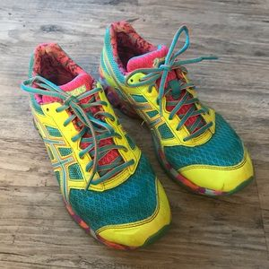 ASICS | T3A6Q MULTICOLORED RUNNING SNEAKERS SHOES